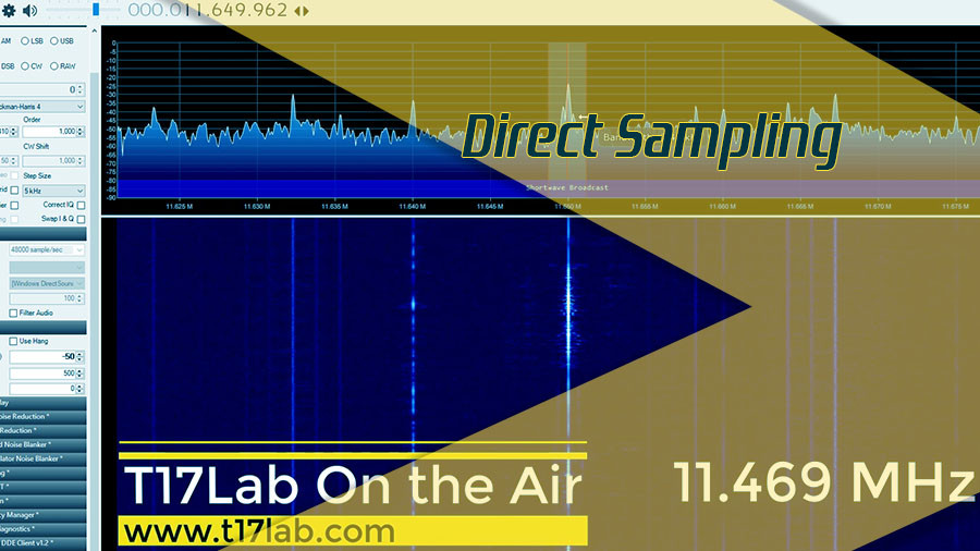 Direct Sampling – RTL-SDR v3 – SDR#