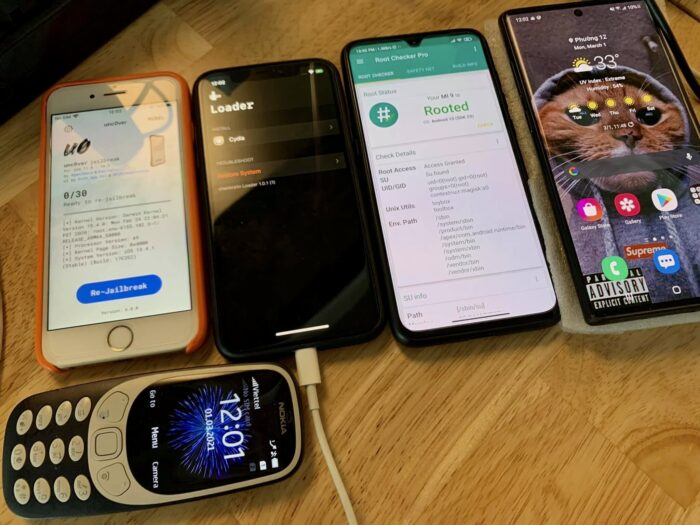 Jailbroken Rooted Devices